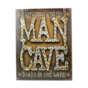 ms 1701 man cave  diamond plate