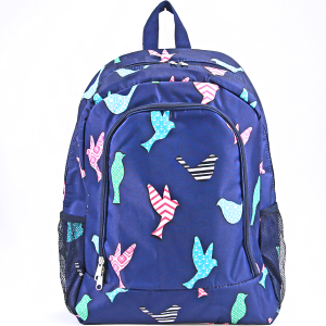 luggage AK NBN 26 navy blue bird