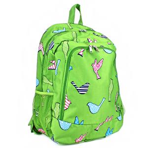 ak backpack nbn 26 bird pattern green