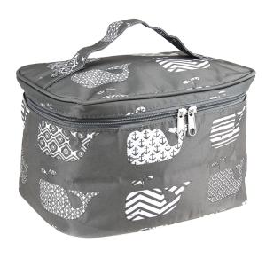 luggage ak NC70 27 collapsible makeup bag whale gray