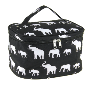luggage ak NC70 E collapsible makeup bag simple elephant black