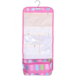 luggage AK NCB25 25 hanging cosmetic case ice pop light pink