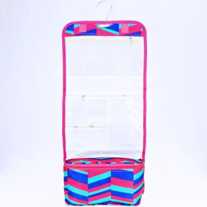 luggage AK NCB25 hanging cosmetic case geometric fuchsia