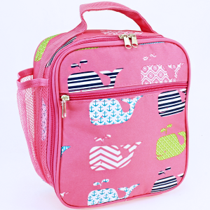 luggage AK NCC17 27 long lunch box multi whale light pink