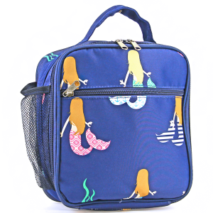 luggage ak ncc17 29 long lunch box mermaid multi navy