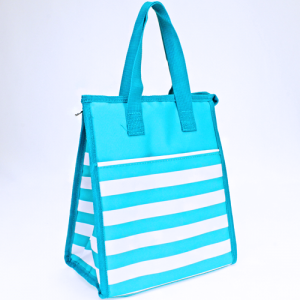 luggage AK NCC18 nautical stripe turquoise