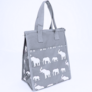 luggage AK NCC18 lunch box simple elephant gray