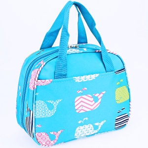 luggage ak ncc20 27 lunch box multi whale turquoise