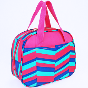 luggage ak ncc20 36 lunch box geometric fuchsia