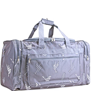 luggage ND22 26 duffle bag grey bird