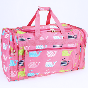 luggage ND22 27 duffle bag multi whale light pink