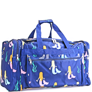 Luggage ND22 29 mermaid duffel navy blue