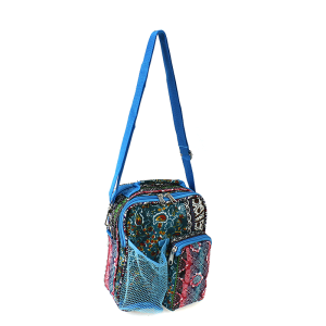 luggage p6009 647T YH day pack boho paisley turquoise