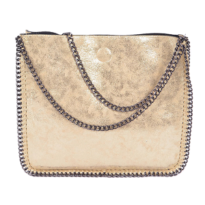 3AM PP 6897 fashion chain tote gold