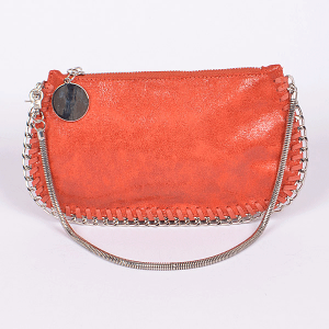 3AM PPC6718 twined chain clutch orange