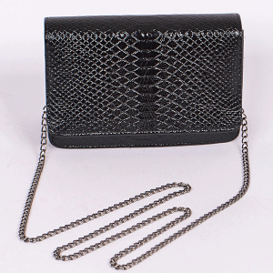 3AM PPC6739 snake skin crossbody black