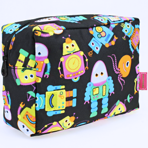 luggage 1009 toiletry bag robot black