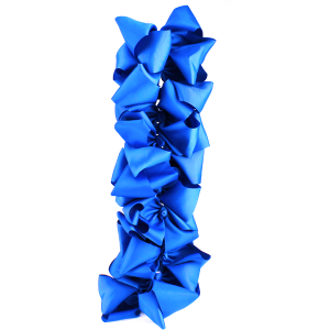 12 pack Bow set clip blue