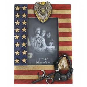 RT ra 5607 police photo frame multi