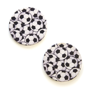 Car Coaster 040 12 Tipi soccer ball