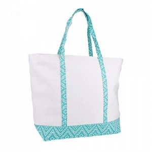 Luggage ST20 5002 CK canvas aztec tote turquoise