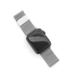 Watch Band 085 Milanese Loop watch band 38mm 40mm silver