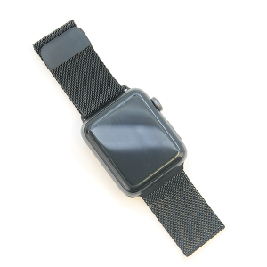 Watch Band 082 Loop Milanese watch band 42mm 44mm black