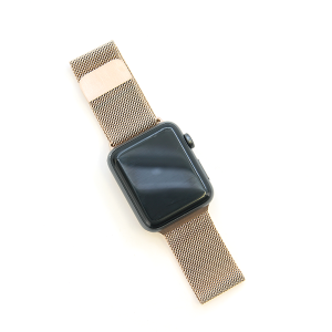 Watch Band 067a Loop Milanese watch band 42mm 44mm gold