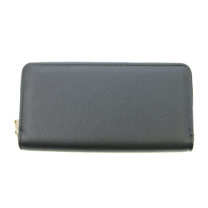 Bijorca WT377X191 zipper wallet pebbled black