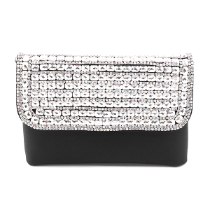 YB2104 crystal convertible crossbody fanny pack clear