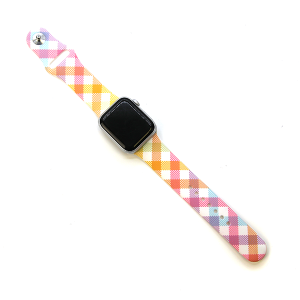 Watch Band 103 38mm 40mm watch band multicolor plaid