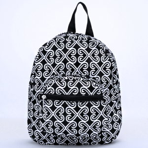 ak backpack NB5 17 twist black white