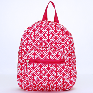 ak backpack NB5 17 twist fuchsia white