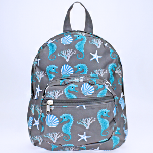 ak backpack NB5 32 sea horse gray turquoise