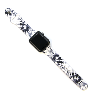 Watch Band 158a Abstract BW 42mm 44mm