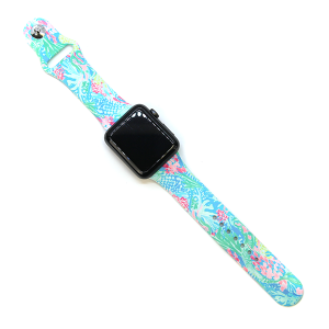 Watch Band 149a Sea life Green Blue 38mm 40mm