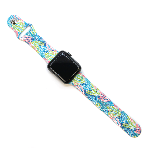 Watch Band 140b coral seaweed 38mm 40mm