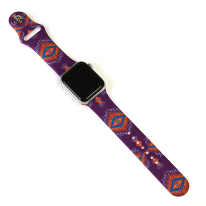 Watch Band 153a 08 38mm 40mm geo aztec multi