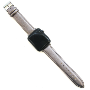 Watch Band 017b 08 buckle band 38mm 40mm hematite