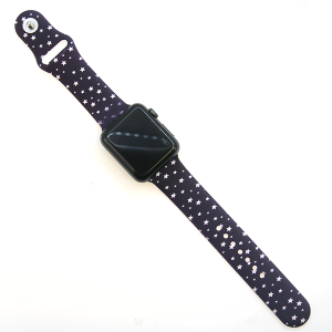 Watch Band 066 08 silicone rubber 38mm 40mm stars