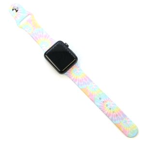 Watch Band 205 08 42mm 44mm Watch Band tie dye