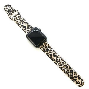 Watch Band 109c 08 42mm 44mm Watch Band leopard beige