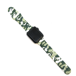 Watch Band 116 08 Rubber Silicone watch band 38mm 40mm camo