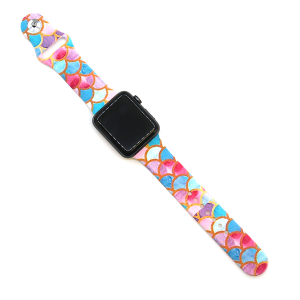 Watch Band 062d 08 Rubber Silicone watch band 38mm 40mm scales