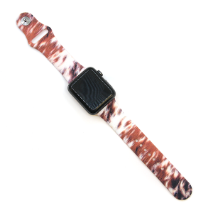 Watch Band 070b 08 Rubber Silicone watch band 38mm 40mm furry