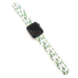 Watch Band 080 08 silicone rubber 38mm 40mm cactus