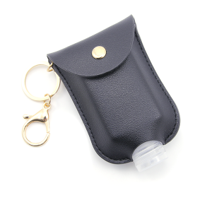 Hand Sanitizer Keychain 035 Black