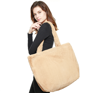 Handbag Tote soft shoulder bag brown