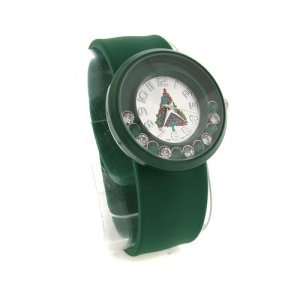 christmas watch 032a 08 slap wrist green