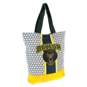 cm lbu 036 Baylor University Tote Bag Green